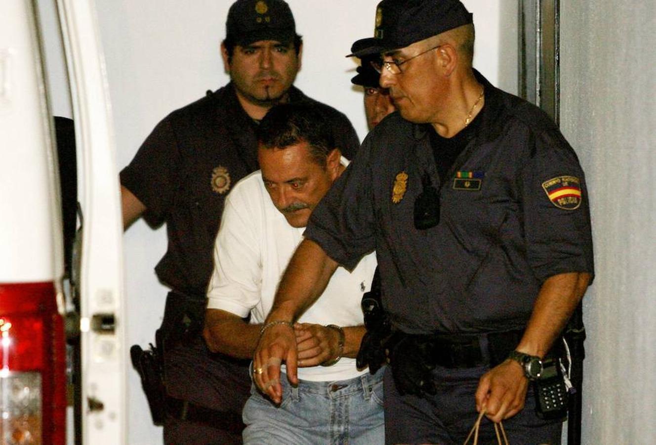 Julián Muñoz es trasladado a una prisión de Málaga en julio de 2006