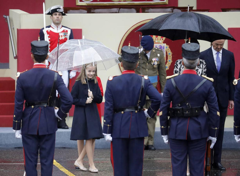 La Princesa de Asturias, durante el acto central