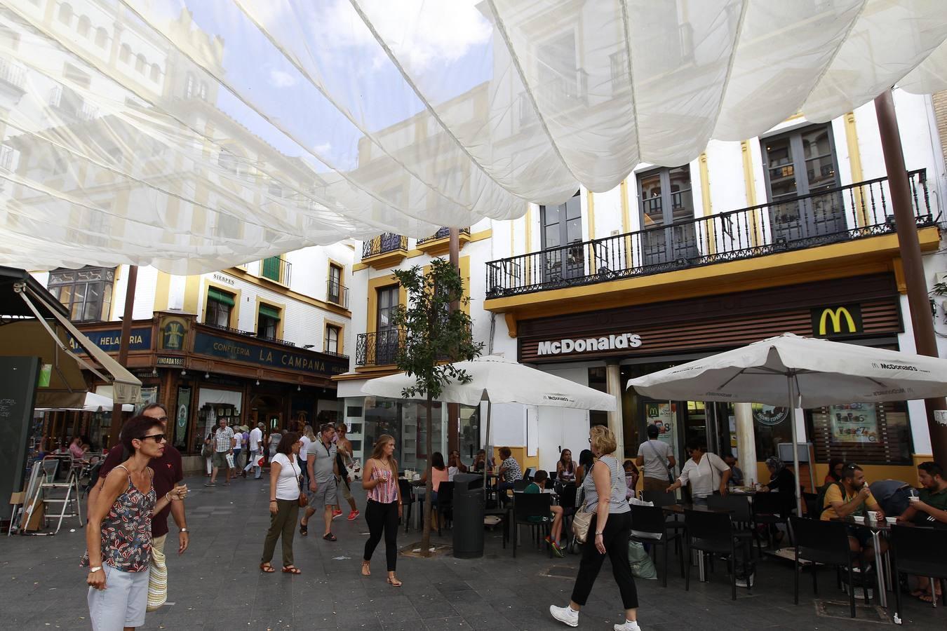 Veladores del McDonald's en La Campana
