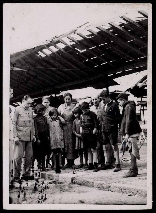 El bombardeo de Cabra por el bando republicano en 1938, en imágenes
